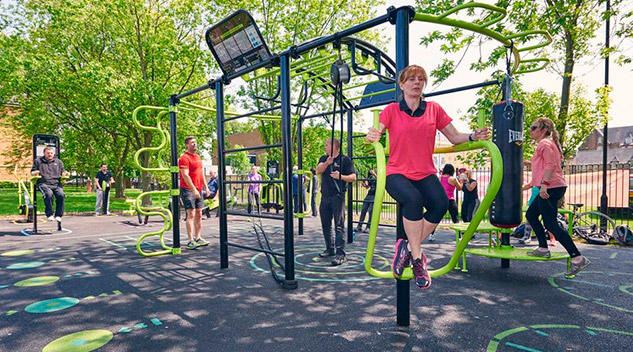 Playgrounds for an Aging Population